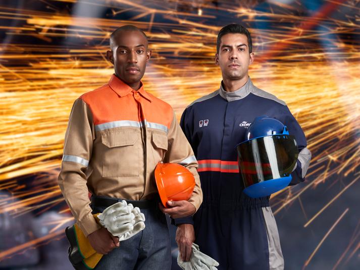 Tecnologia em tecidos para segurança do trabalhador