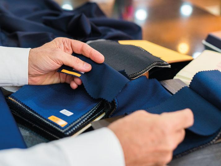 O  tecido do uniforme e a produtividade